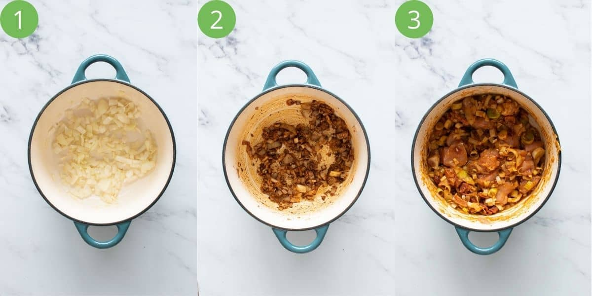 Steps 1-3 to make this recipe.