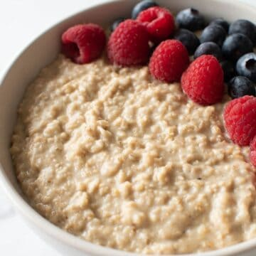 Protein porridge.