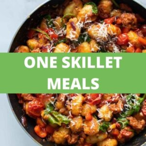 One Skillet Meals Recipes