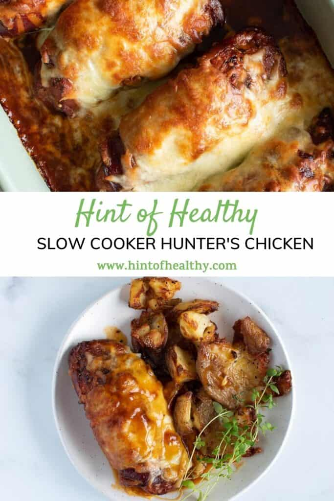 Two images of hunter's chicken.