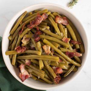 Slow Cooker Green Beans.